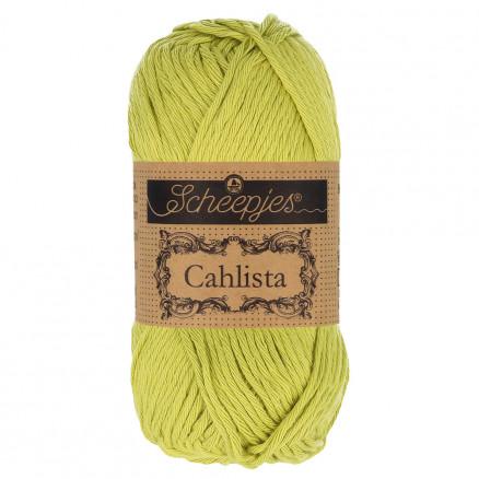 Image of   Scheepjes Cahlista Garn Unicolor 512 Lime
