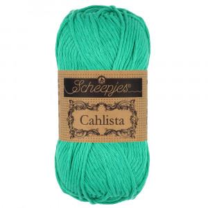 Image of   Scheepjes Cahlista Garn Unicolor 514 Jade