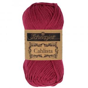Image of   Scheepjes Cahlista Garn Unicolor 517 Ruby