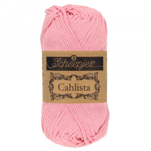 Image of   Scheepjes Cahlista Garn Unicolor 518 Marshmallow