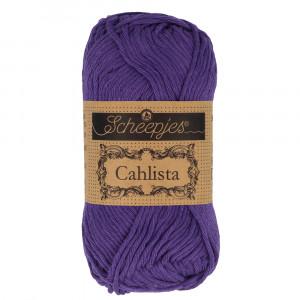 Image of   Scheepjes Cahlista Garn Unicolor 521 Deep Violet