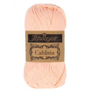 Scheepjes Cahlista Garn Unicolor 523 Peach