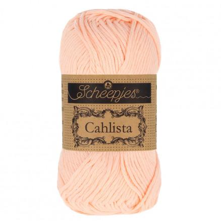 Image of   Scheepjes Cahlista Garn Unicolor 523 Peach