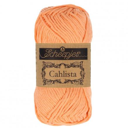 Image of   Scheepjes Cahlista Garn Unicolor 524 Apricot