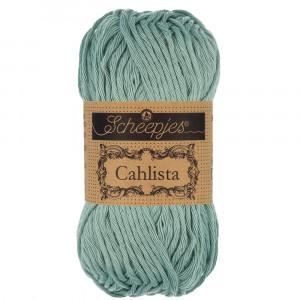 Image of   Scheepjes Cahlista Garn Unicolor 528 Silver Blue