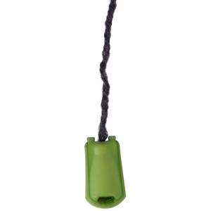 Endestopper Plast Limegrøn 3,5mm - 1 stk