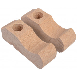 Svenske træsko 43mm - 1 par