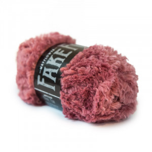 Mayflower Fake Fur Garn Unicolor 09 Rosa