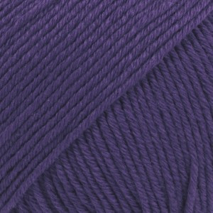 Drops Cotton Merino Unicolor 27 Violet