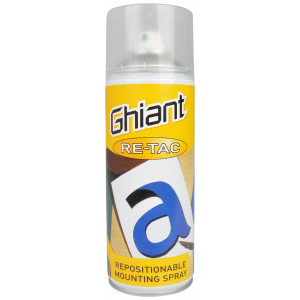 Ghiant Spraylim Ikke-Permanent 400ml