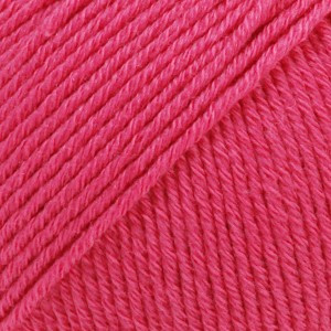 Drops Cotton Merino Unicolor 14 Cerise