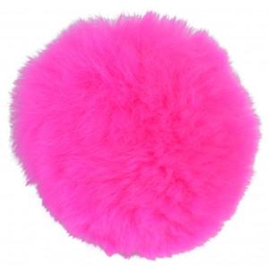 Image of   Infinity Hearts Pompon Kvast Rex Kaninhår Pink 80mm
