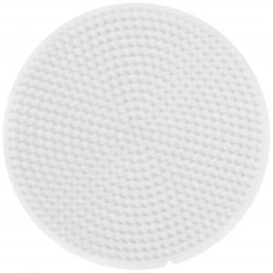 Hama Mini Perleplade 595 Rund Hvid Diameter 8cm - 1 stk