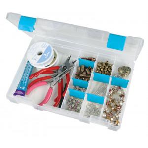 ArtBin Plastboks til knapper og tilbehør Transparent 27,3x18,7x4,5cm