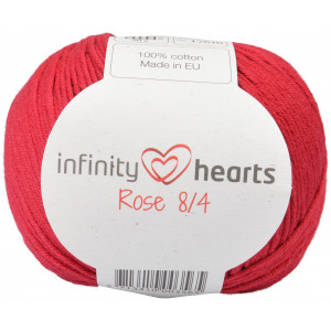 Infinity Hearts Rose 8/4 Garn Unicolor 21 Vinrød