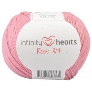 Infinity Hearts Rose 8/4 Garn Unicolor 27 Lys Gammelrosa