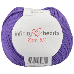 Infinity Hearts Rose 8/4 Garn Unicolor 56 Mørk Lilla