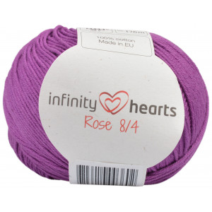Infinity Hearts Rose 8/4 Garn Unicolor 65 Lyng