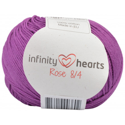 Image of   Infinity Hearts Rose 8/4 Garn Unicolor 65 Lyng