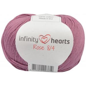 Infinity Hearts Rose 8/4 Garn Unicolor 78 Mørk Gammelrosa