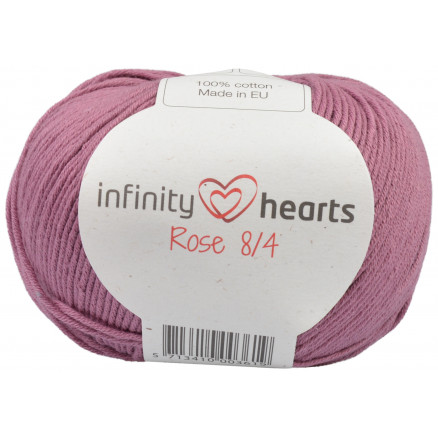Image of   Infinity Hearts Rose 8/4 Garn Unicolor 78 Mørk Gammelrosa