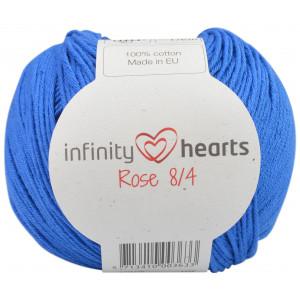 Infinity Hearts Rose 8/4 Garn Unicolor 101 Koboltblå