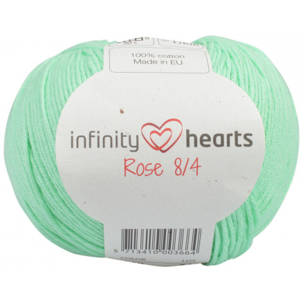 Image of   Infinity Hearts Rose 8/4 Garn Unicolor 140 Mintgrøn