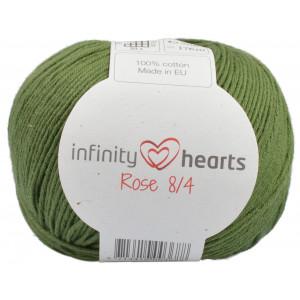 Infinity Hearts Rose 8/4 Garn Unicolor 163 Mørkegrøn