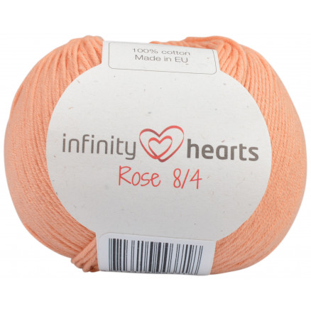 Image of   Infinity Hearts Rose 8/4 Garn Unicolor 195 Fersken