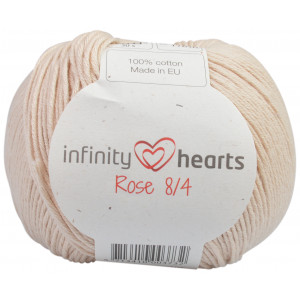 Infinity Hearts Rose 8/4 Garn Unicolor 212 Sand