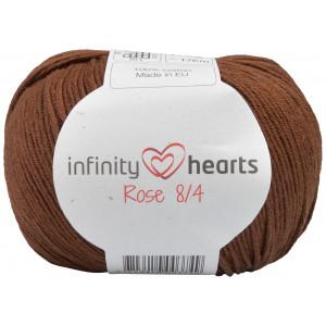 Infinity Hearts Rose 8/4 Garn Unicolor 228 Mørkebrun