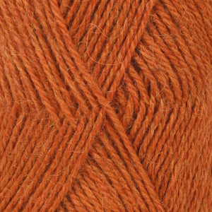 Image of   Drops Alpaca Garn Mix 2925 Orange Meleret
