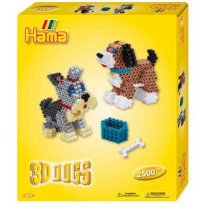 Hama Midi Gaveæske 3243 3D Hunde