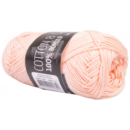 Image of   Mayflower Cotton 8/4 Garn Unicolor 1447 Laks