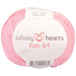 Infinity Hearts Rose 8/4 Garn Unicolor 05 Lyserød