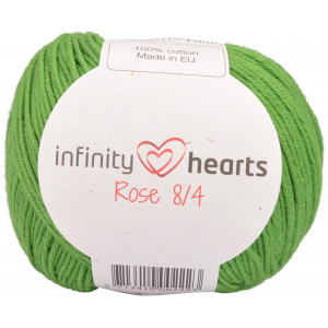 Infinity Hearts Rose 8/4 Garn Unicolor 156 Grøn