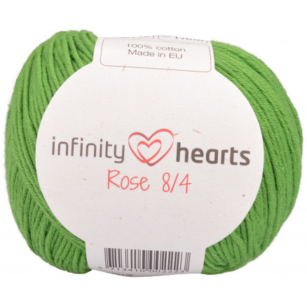 Image of   Infinity Hearts Rose 8/4 Garn Unicolor 156 Grøn