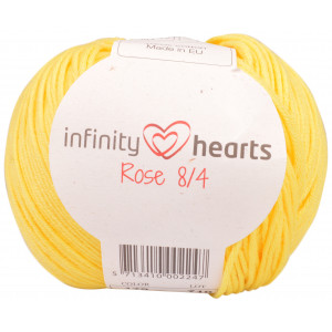 Infinity Hearts Rose 8/4 Garn Unicolor 179 Gul