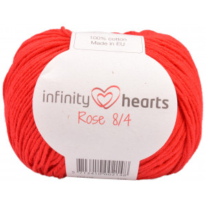 Infinity Hearts Rose 8/4 Garn Unicolor 19 Rød