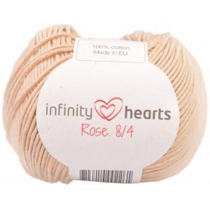 Infinity Hearts Rose 8/4 Garn Unicolor 213 Beige