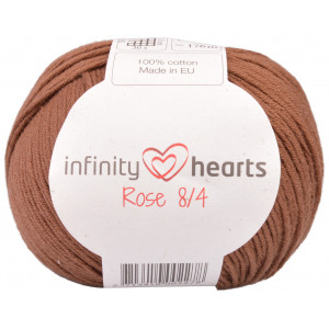 Infinity Hearts Rose 8/4 Garn Unicolor 219 Brun