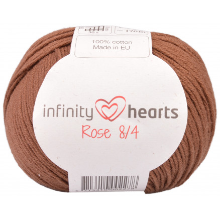 Image of   Infinity Hearts Rose 8/4 Garn Unicolor 219 Brun