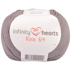 Infinity Hearts Rose 8/4 Garn Unicolor 235 Grå