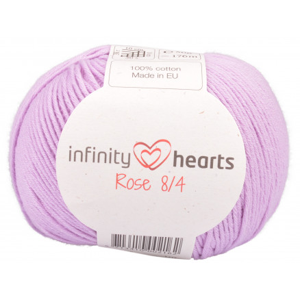 Image of   Infinity Hearts Rose 8/4 Garn Unicolor 52 Syren