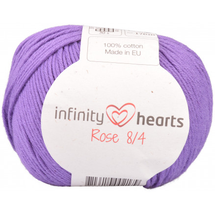 Image of   Infinity Hearts Rose 8/4 Garn Unicolor 69 Lilla
