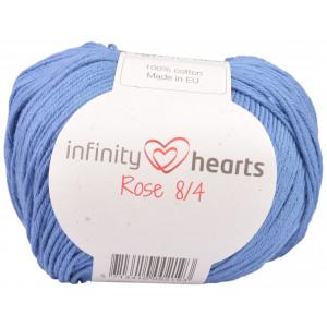 Infinity Hearts Rose 8/4 Garn Unicolor 91 Jeansblå