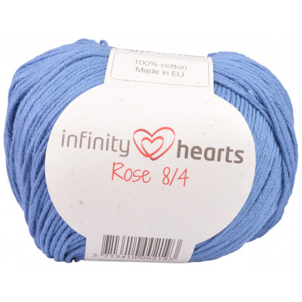 Image of   Infinity Hearts Rose 8/4 Garn Unicolor 91 Jeansblå