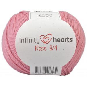 Infinity Hearts Rose 8/4 Garn Unicolor 29 Gammelrosa