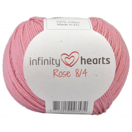 Image of   Infinity Hearts Rose 8/4 Garn Unicolor 29 Gammelrosa
