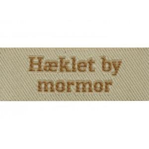 Image of   Label Hæklet by Mormor Sandfarve